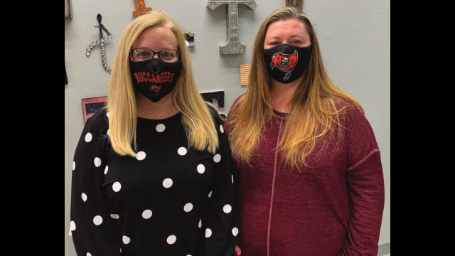Get your Tonkawa Buc face masks!