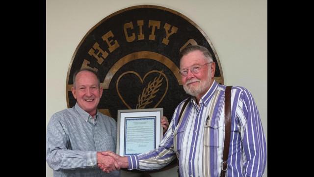Oklahoma Poet Laureate Joe Kreger honored