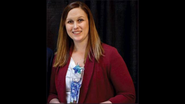 Former citian recognized by OSU Staff Advisory Council