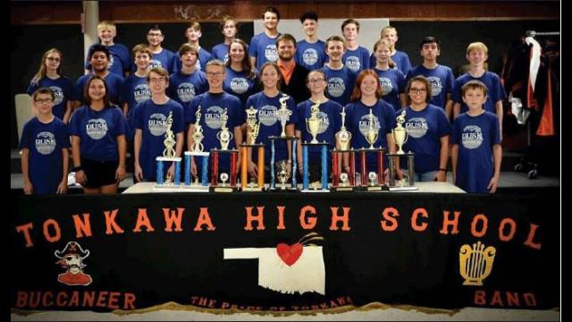 'Pride of Tonkawa' marching band